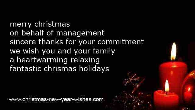 business christmas messages colleagues