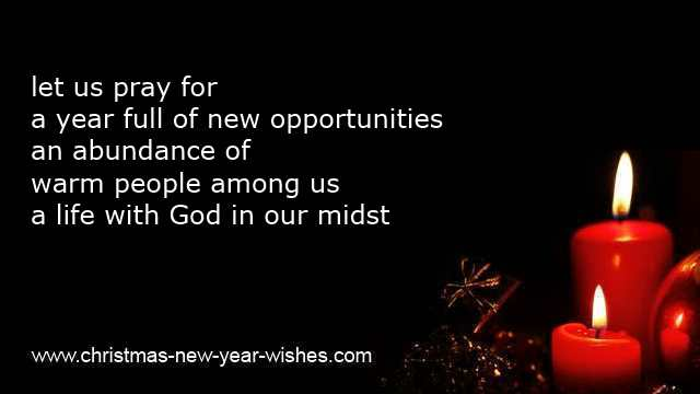 new year religious resolutions