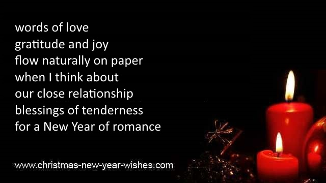messages cute loving husband new year poems