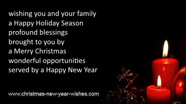 merry christmas and new year sayings
