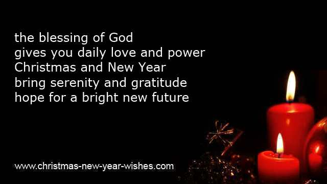 christmas and new year christian sayings